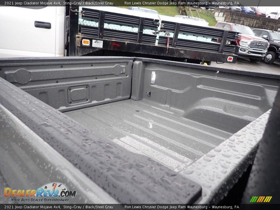 2021 Jeep Gladiator Mojave 4x4 Sting-Gray / Black/Steel Gray Photo #7