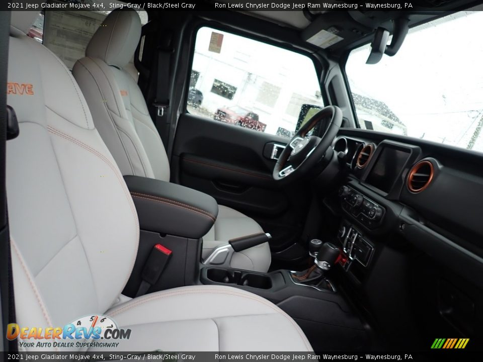 Front Seat of 2021 Jeep Gladiator Mojave 4x4 Photo #8