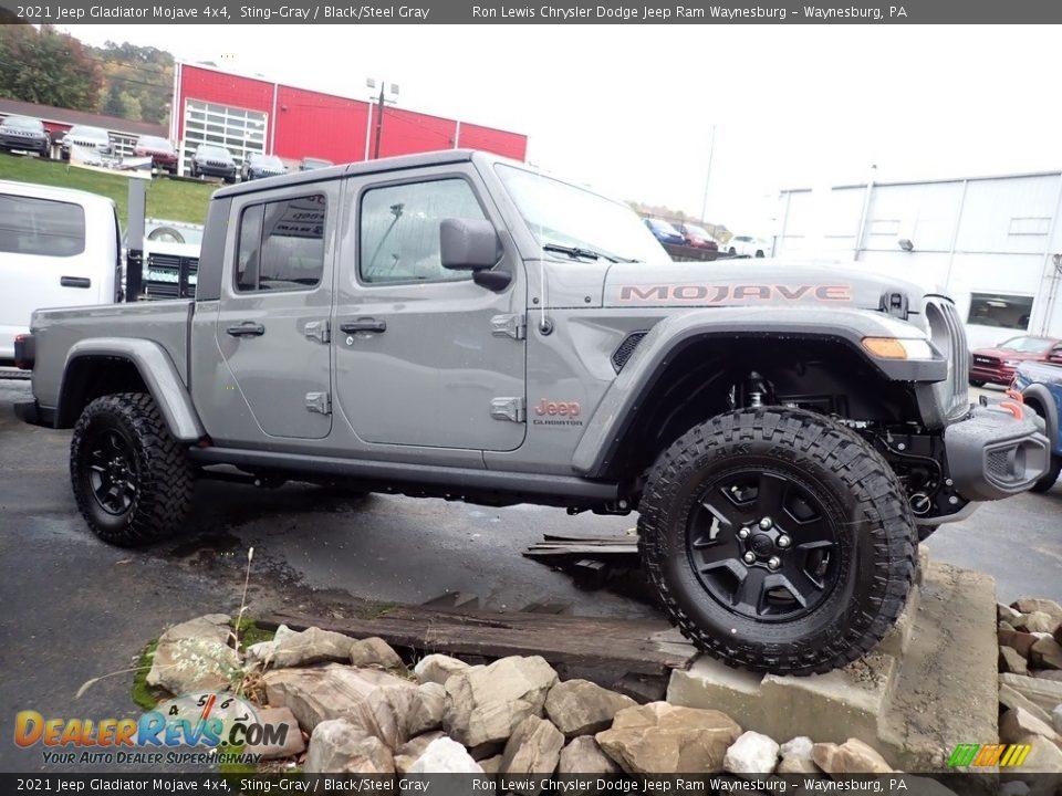 Sting-Gray 2021 Jeep Gladiator Mojave 4x4 Photo #10