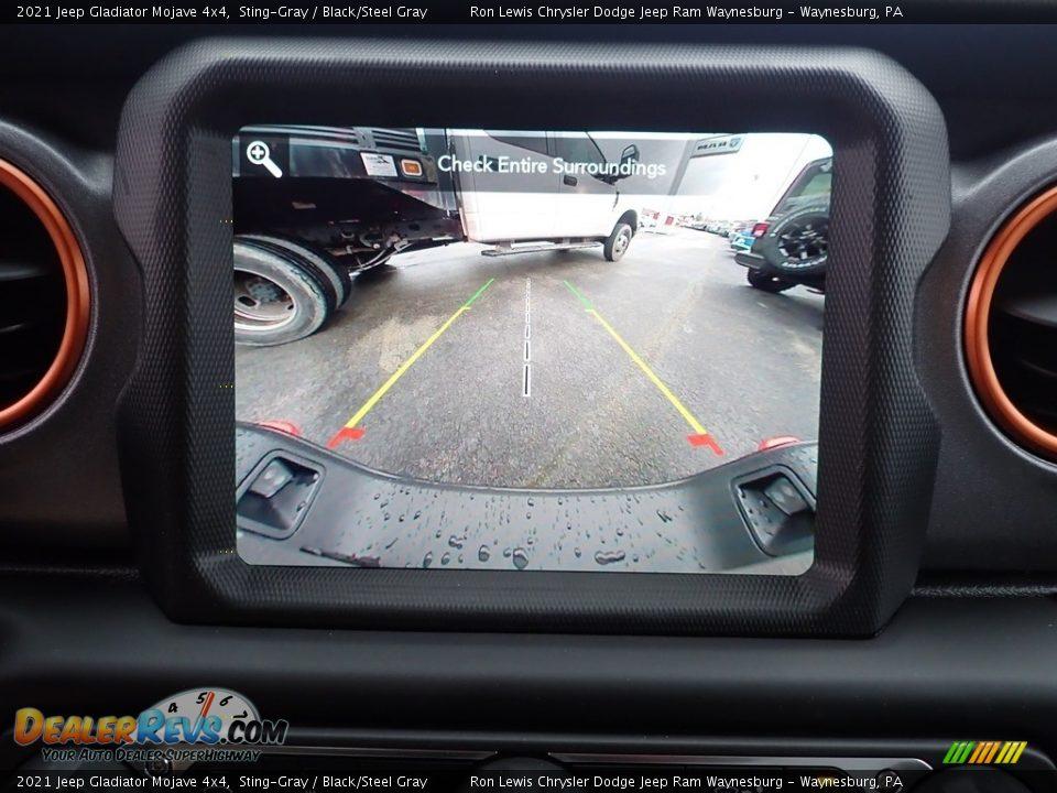 2021 Jeep Gladiator Mojave 4x4 Sting-Gray / Black/Steel Gray Photo #18
