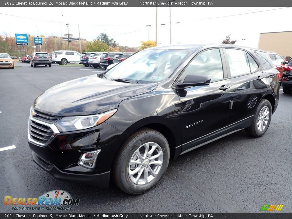 2021 Chevrolet Equinox LS Mosaic Black Metallic / Medium Ash Gray Photo #1