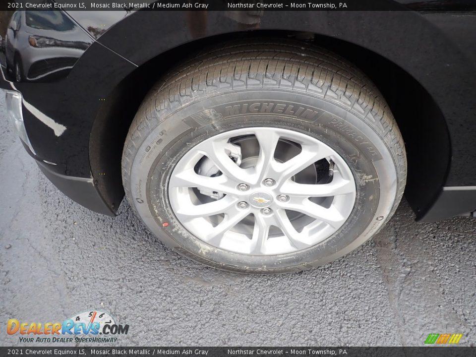 2021 Chevrolet Equinox LS Mosaic Black Metallic / Medium Ash Gray Photo #2
