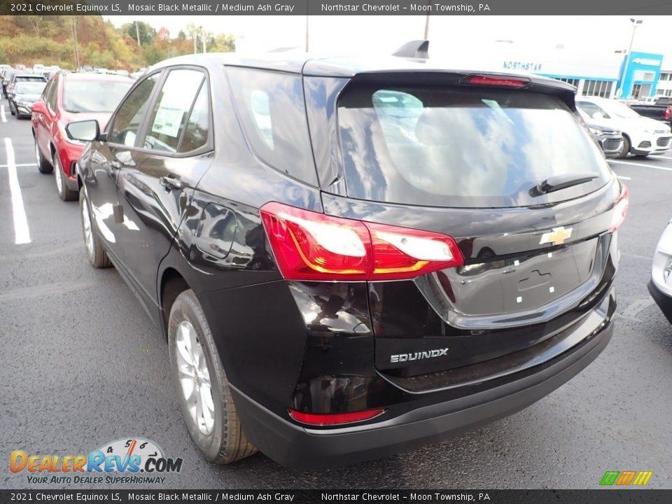 2021 Chevrolet Equinox LS Mosaic Black Metallic / Medium Ash Gray Photo #4