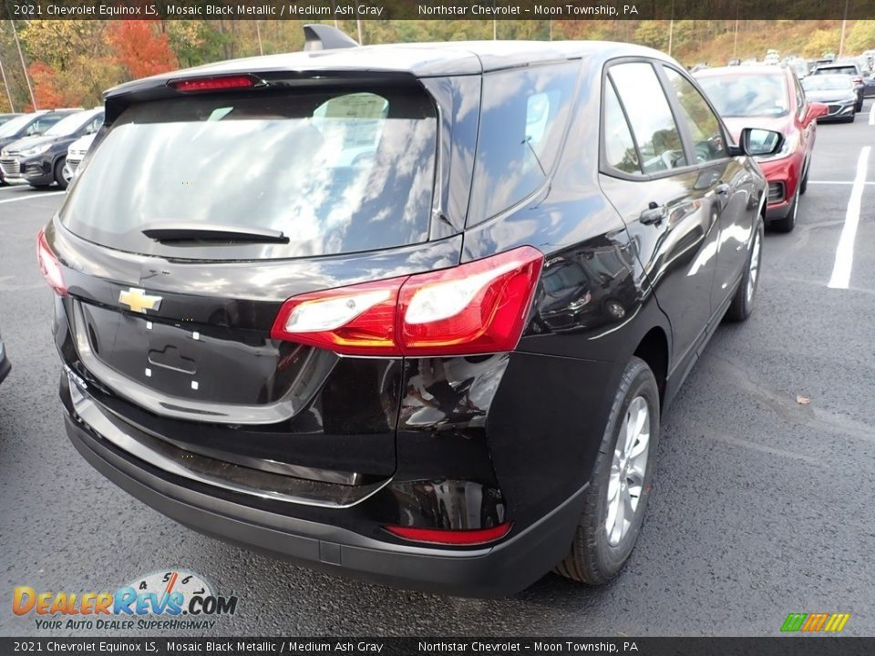 2021 Chevrolet Equinox LS Mosaic Black Metallic / Medium Ash Gray Photo #6