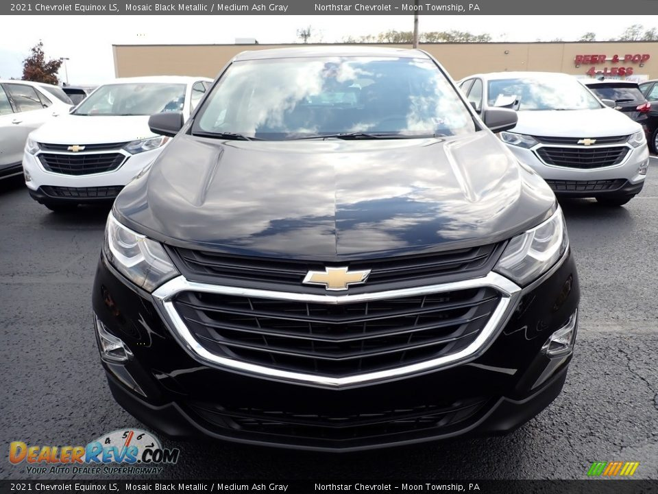 2021 Chevrolet Equinox LS Mosaic Black Metallic / Medium Ash Gray Photo #9
