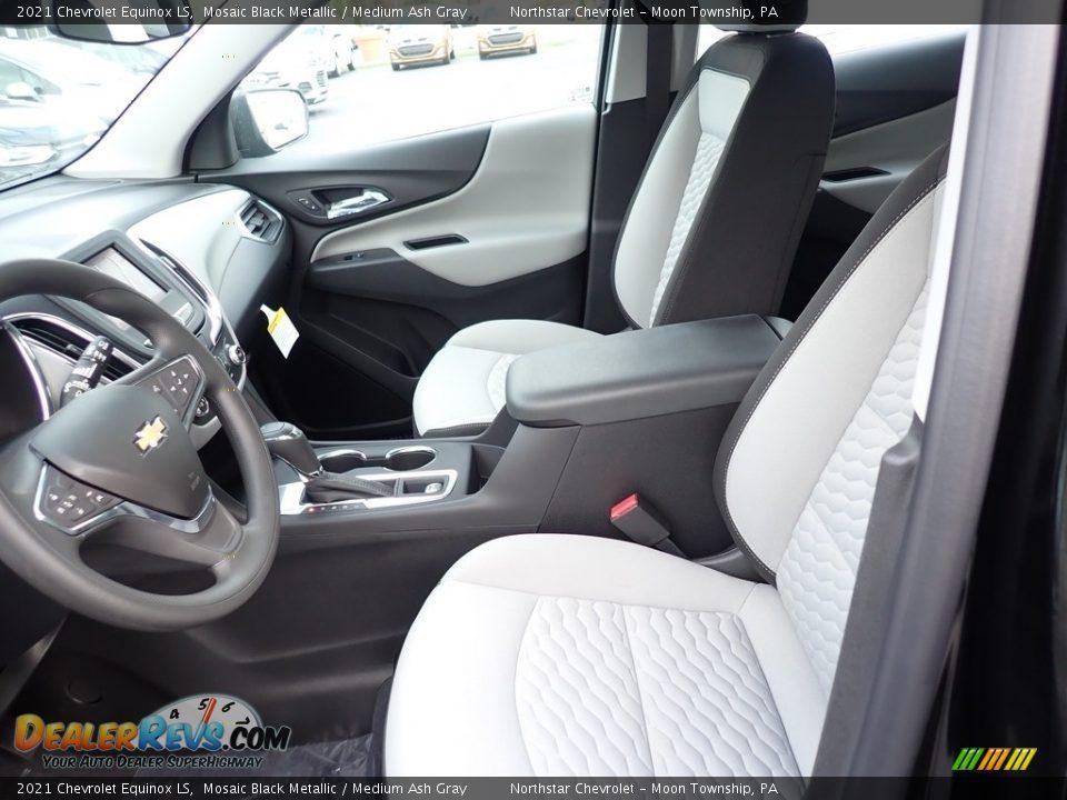 2021 Chevrolet Equinox LS Mosaic Black Metallic / Medium Ash Gray Photo #14