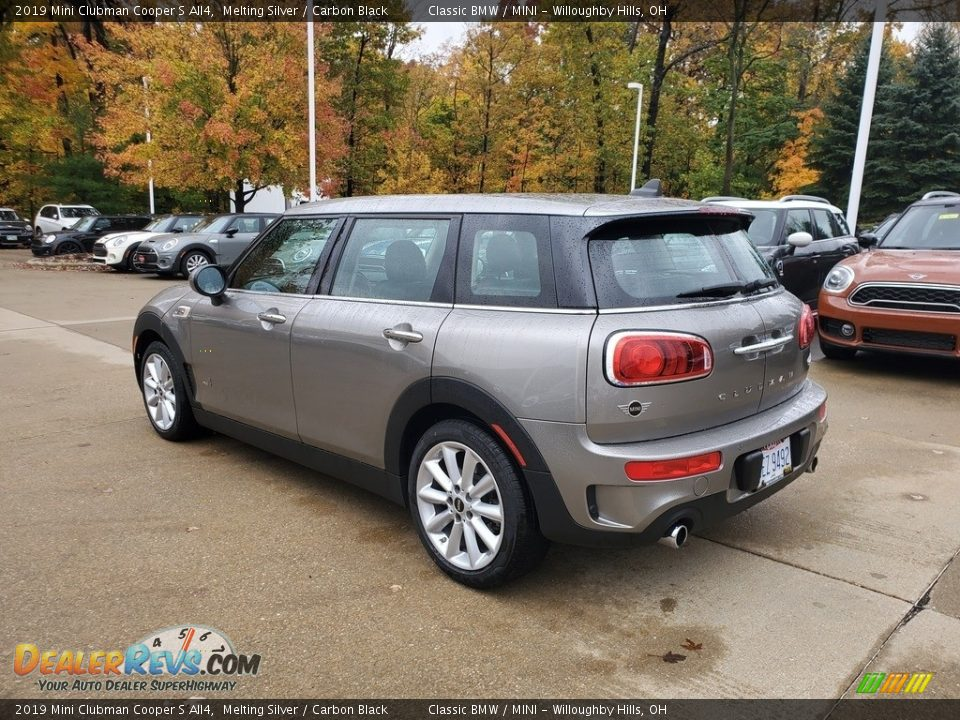 2019 Mini Clubman Cooper S All4 Melting Silver / Carbon Black Photo #2