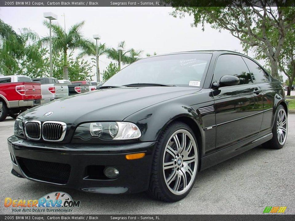 Bmw 2005 Black 2005 BMW M3 Coupe Carb...