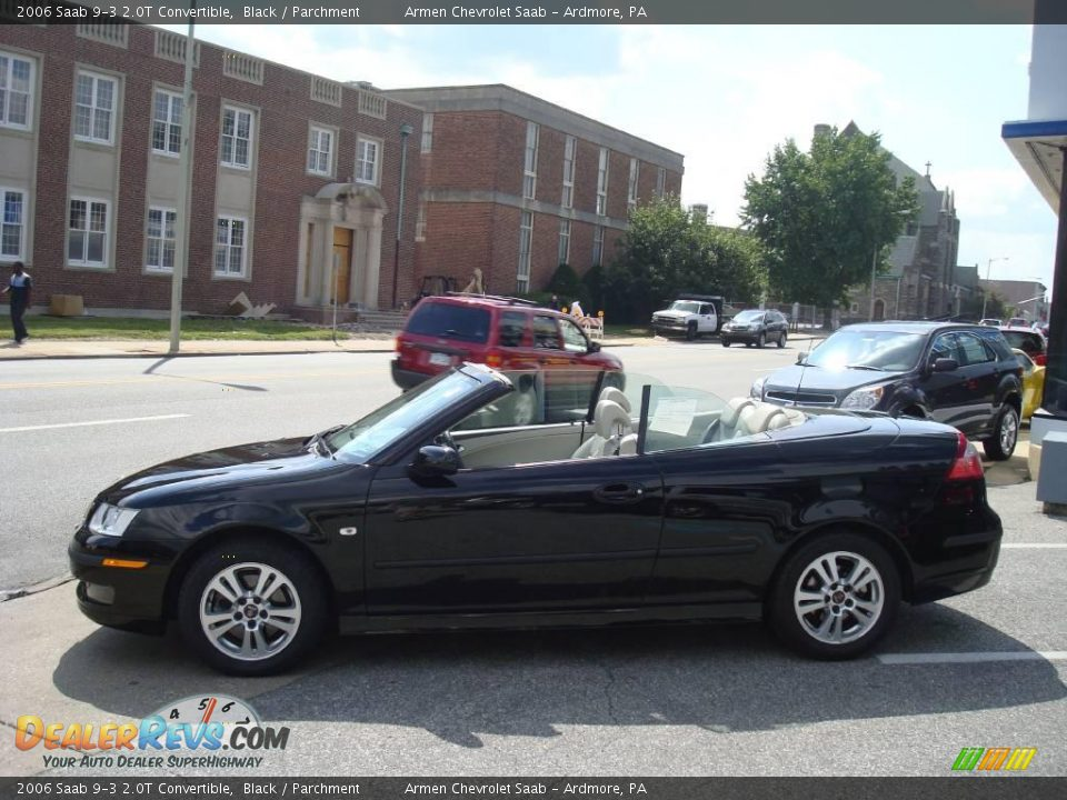 2006 saab 9 3 2 0t convertible black parchment photo 10. Black Bedroom Furniture Sets. Home Design Ideas