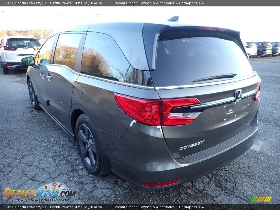 2021 Honda Odyssey EX Pacific Pewter Metallic / Mocha Photo #3