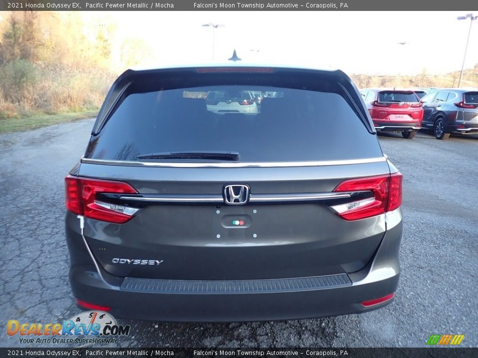 2021 Honda Odyssey EX Pacific Pewter Metallic / Mocha Photo #4