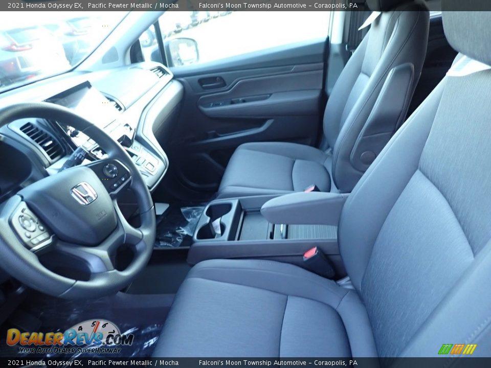 2021 Honda Odyssey EX Pacific Pewter Metallic / Mocha Photo #9