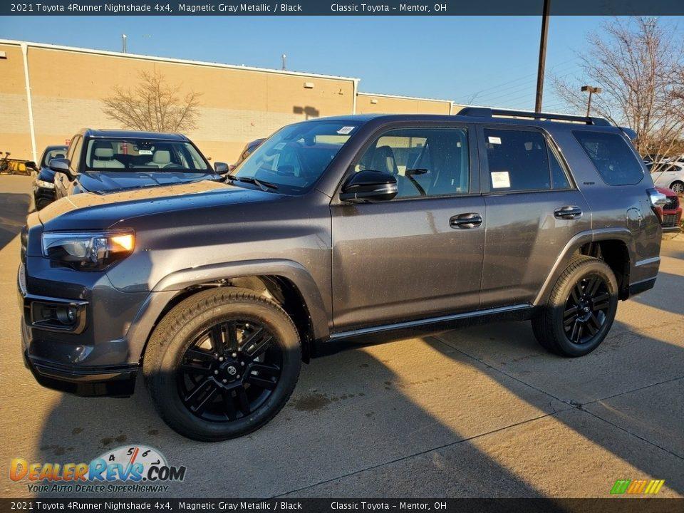 2021 Toyota 4Runner Nightshade 4x4 Magnetic Gray Metallic / Black Photo #1