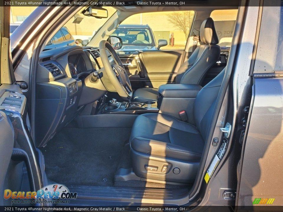 2021 Toyota 4Runner Nightshade 4x4 Magnetic Gray Metallic / Black Photo #2