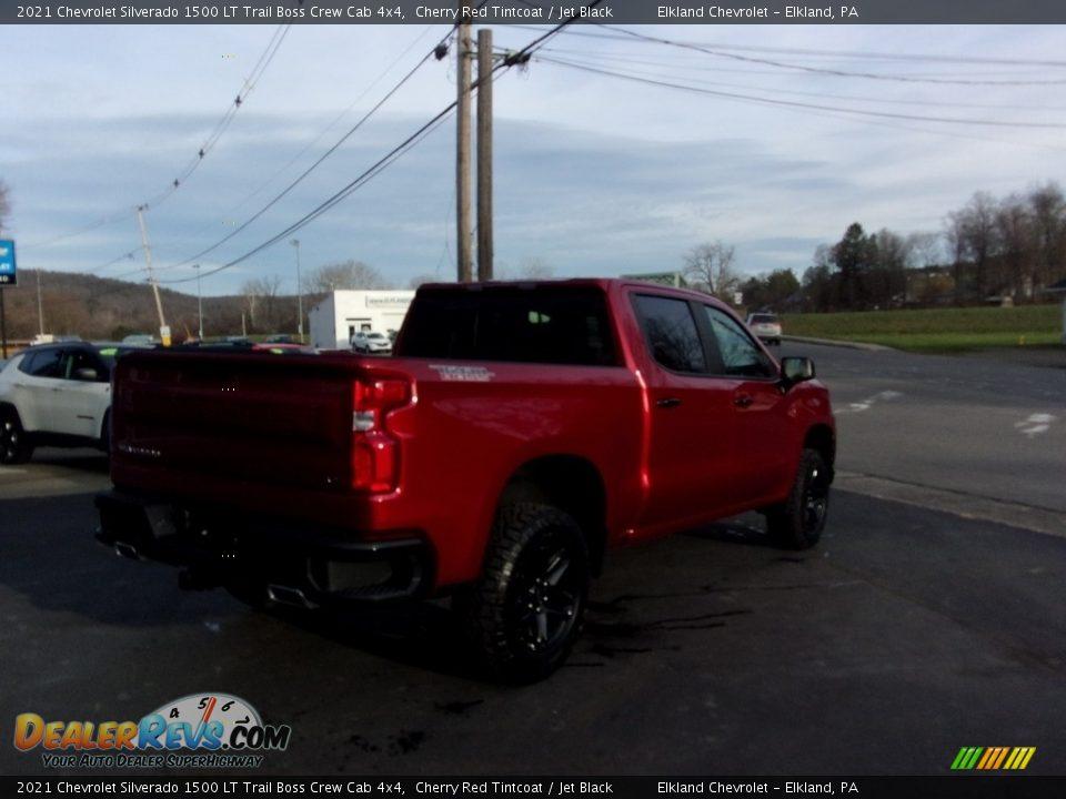 2021 Chevrolet Silverado 1500 LT Trail Boss Crew Cab 4x4 Cherry Red Tintcoat / Jet Black Photo #3