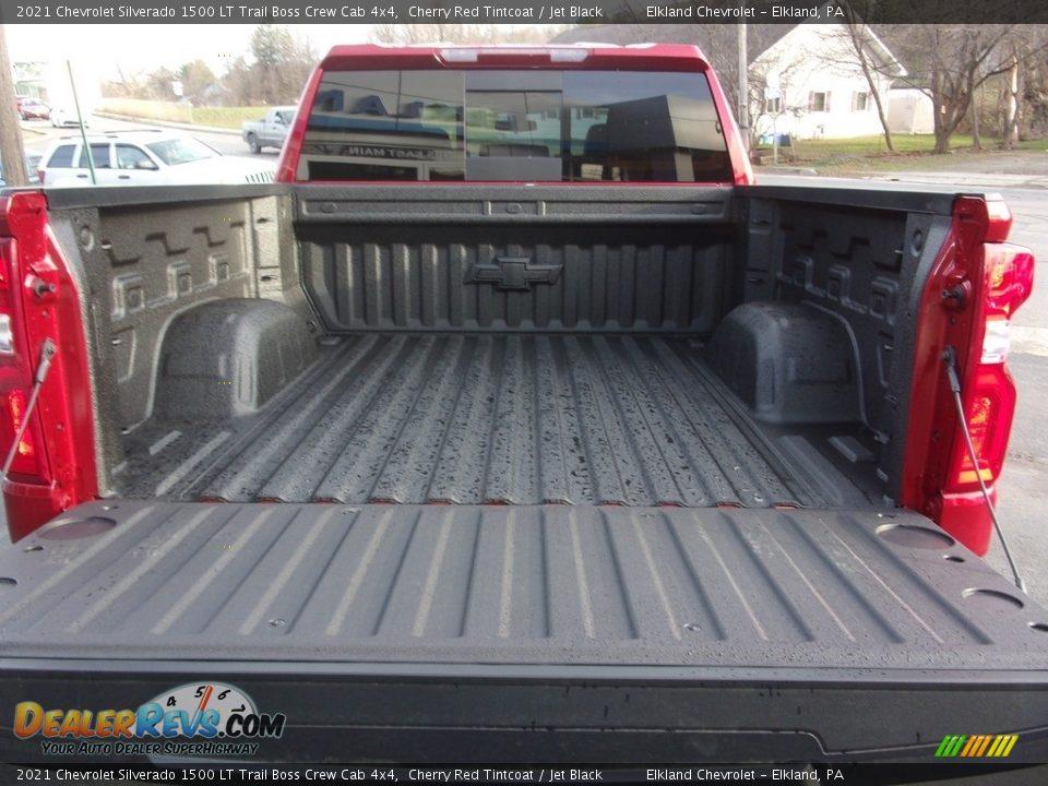 2021 Chevrolet Silverado 1500 LT Trail Boss Crew Cab 4x4 Cherry Red Tintcoat / Jet Black Photo #8