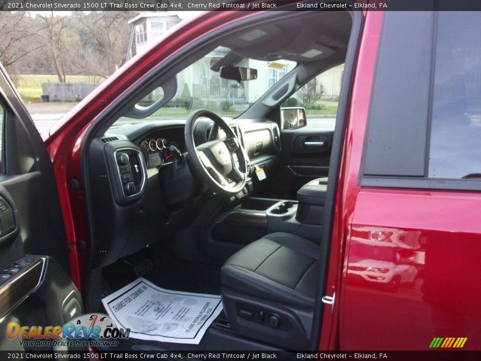 2021 Chevrolet Silverado 1500 LT Trail Boss Crew Cab 4x4 Cherry Red Tintcoat / Jet Black Photo #13