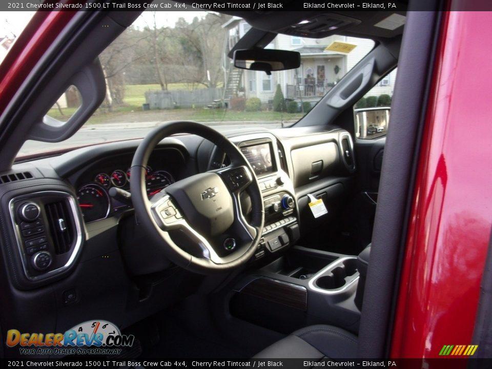 2021 Chevrolet Silverado 1500 LT Trail Boss Crew Cab 4x4 Cherry Red Tintcoat / Jet Black Photo #14