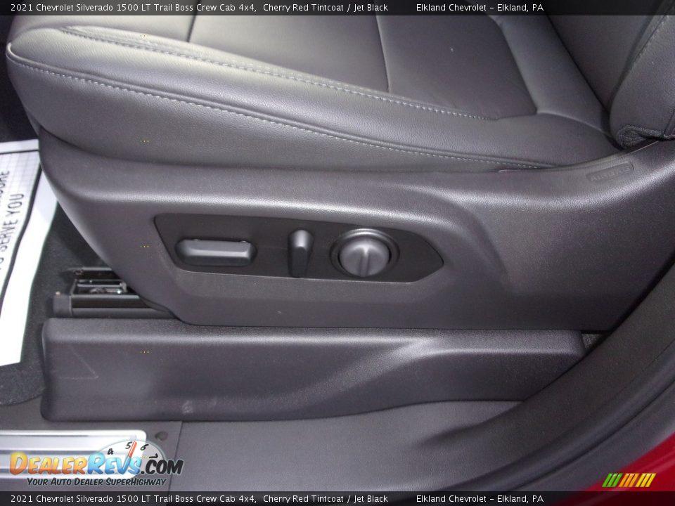 2021 Chevrolet Silverado 1500 LT Trail Boss Crew Cab 4x4 Cherry Red Tintcoat / Jet Black Photo #16