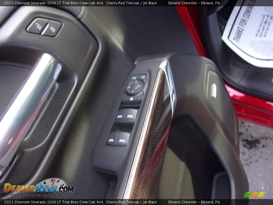 2021 Chevrolet Silverado 1500 LT Trail Boss Crew Cab 4x4 Cherry Red Tintcoat / Jet Black Photo #17
