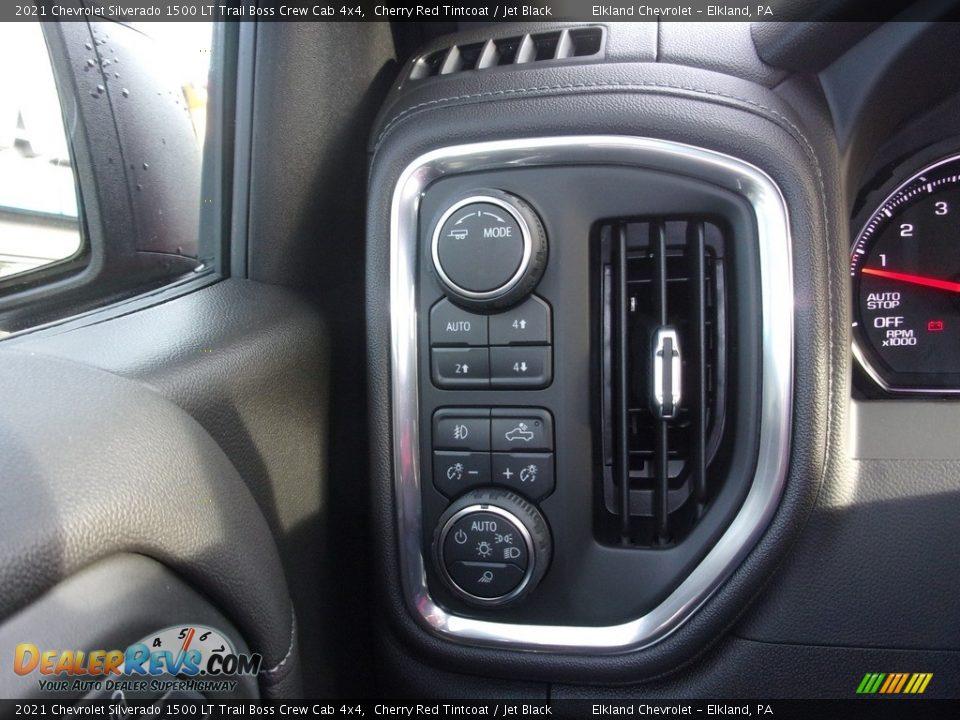 2021 Chevrolet Silverado 1500 LT Trail Boss Crew Cab 4x4 Cherry Red Tintcoat / Jet Black Photo #23