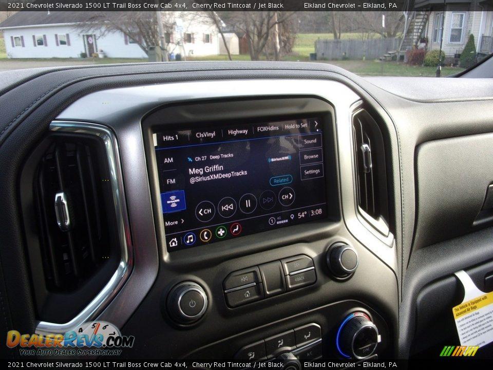 2021 Chevrolet Silverado 1500 LT Trail Boss Crew Cab 4x4 Cherry Red Tintcoat / Jet Black Photo #24