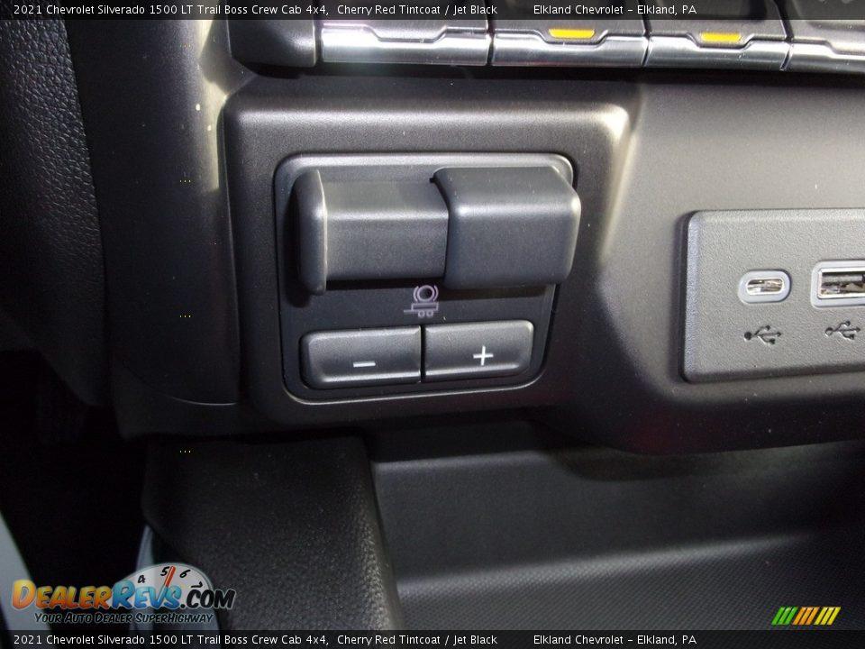 2021 Chevrolet Silverado 1500 LT Trail Boss Crew Cab 4x4 Cherry Red Tintcoat / Jet Black Photo #27