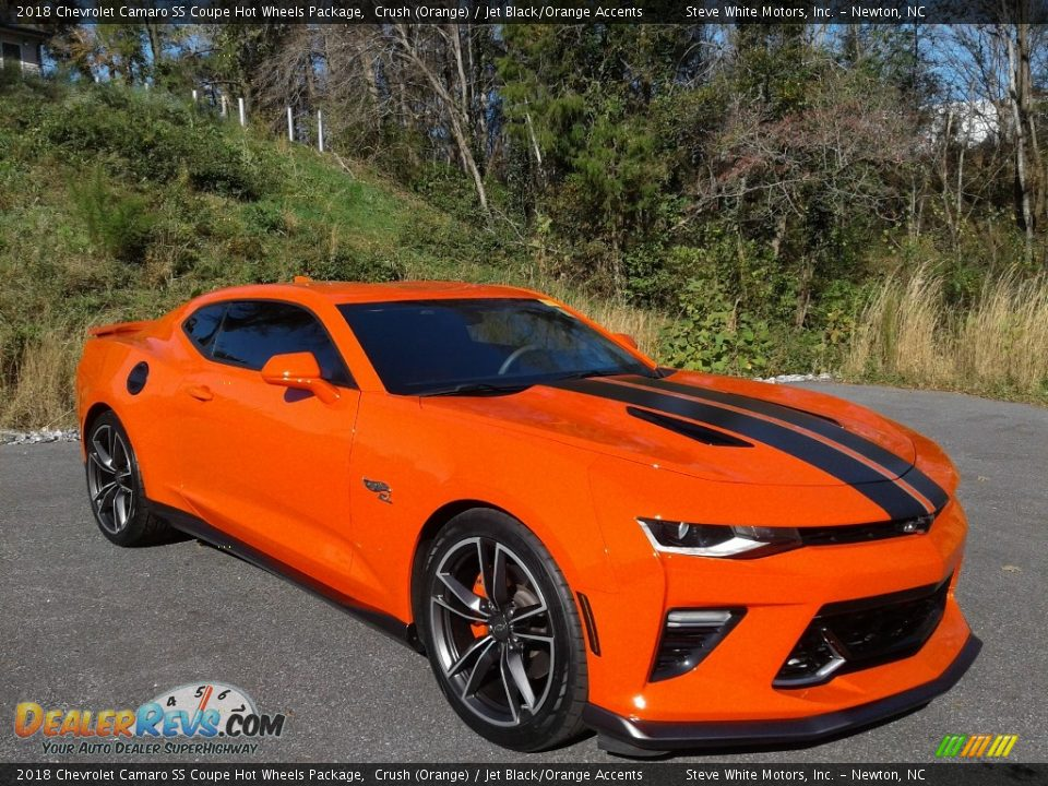 Crush (Orange) 2018 Chevrolet Camaro SS Coupe Hot Wheels Package Photo #6