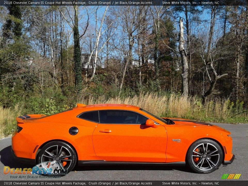 Crush (Orange) 2018 Chevrolet Camaro SS Coupe Hot Wheels Package Photo #7
