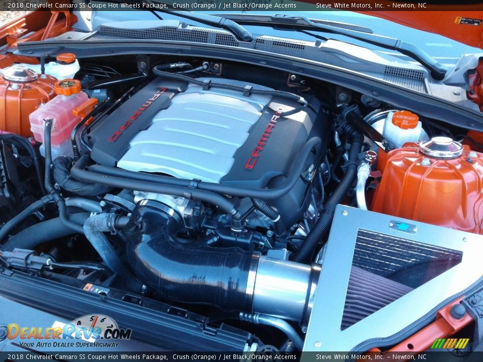 2018 Chevrolet Camaro SS Coupe Hot Wheels Package 6.2 Liter DI OHV 16-Valve VVT V8 Engine Photo #11