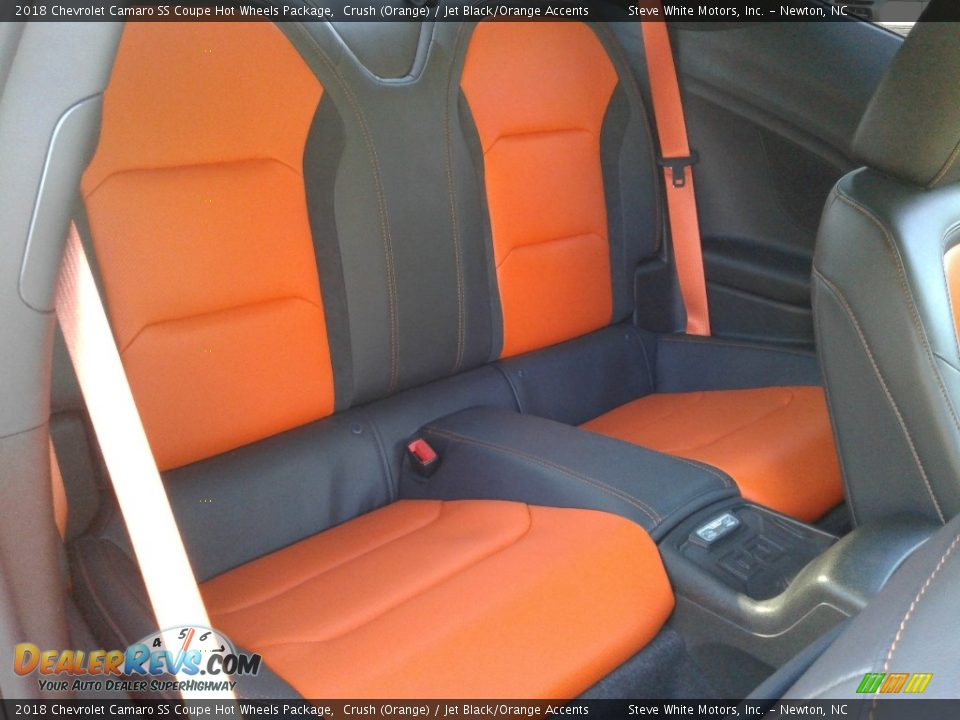 Rear Seat of 2018 Chevrolet Camaro SS Coupe Hot Wheels Package Photo #17