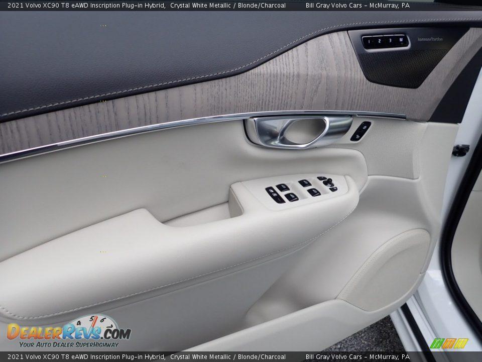 Door Panel of 2021 Volvo XC90 T8 eAWD Inscription Plug-in Hybrid Photo #10