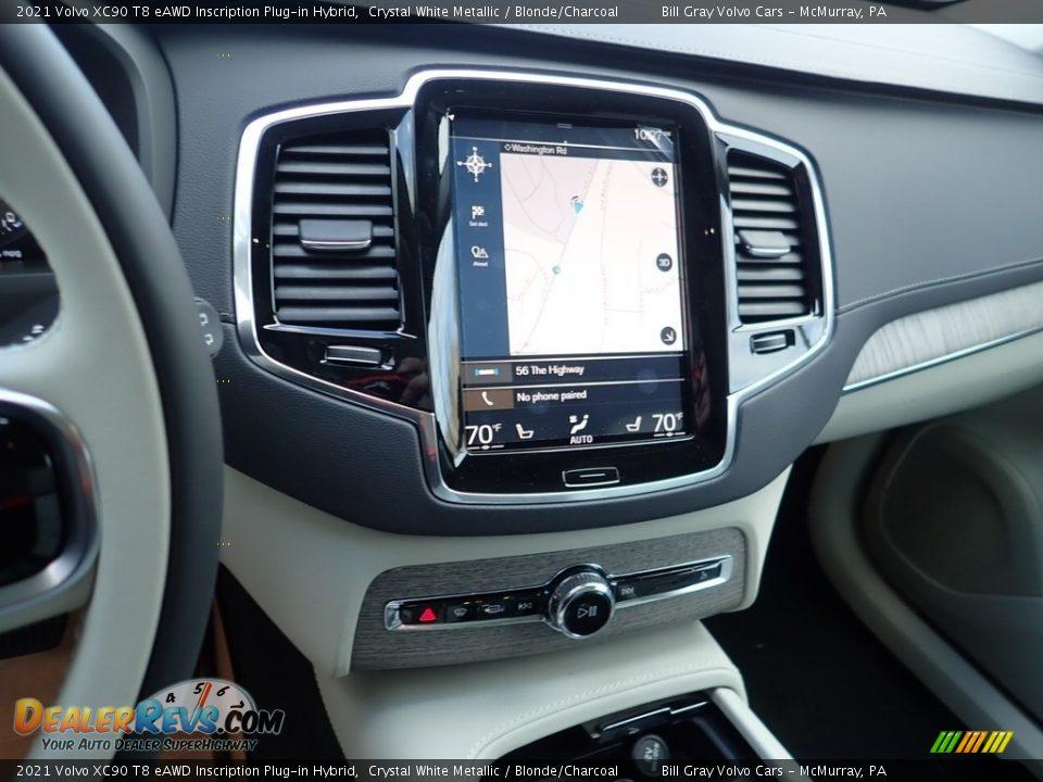 Controls of 2021 Volvo XC90 T8 eAWD Inscription Plug-in Hybrid Photo #14