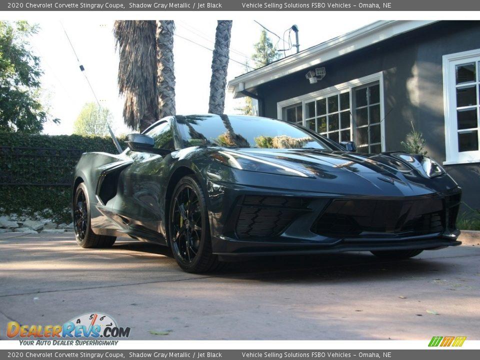 2020 Chevrolet Corvette Stingray Coupe Shadow Gray Metallic / Jet Black Photo #7