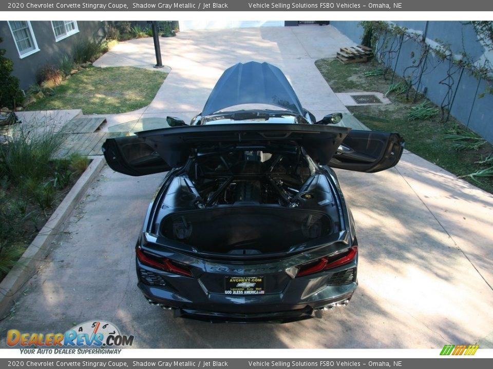 2020 Chevrolet Corvette Stingray Coupe Shadow Gray Metallic / Jet Black Photo #12