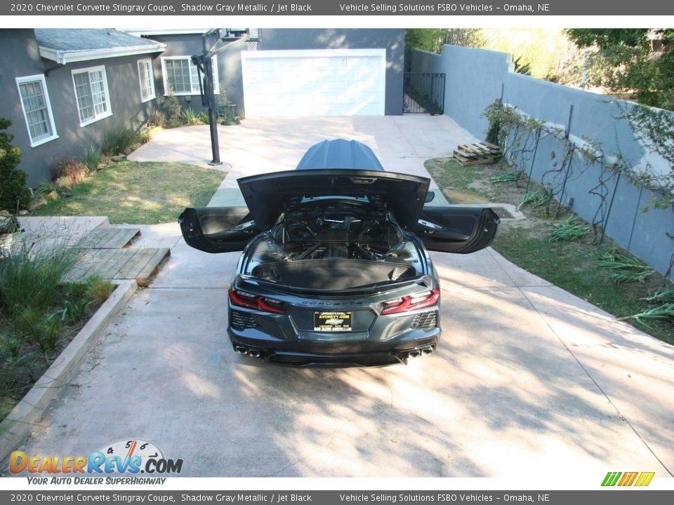 2020 Chevrolet Corvette Stingray Coupe Shadow Gray Metallic / Jet Black Photo #13