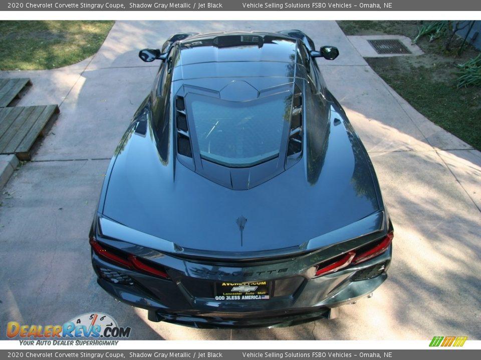 2020 Chevrolet Corvette Stingray Coupe Shadow Gray Metallic / Jet Black Photo #15