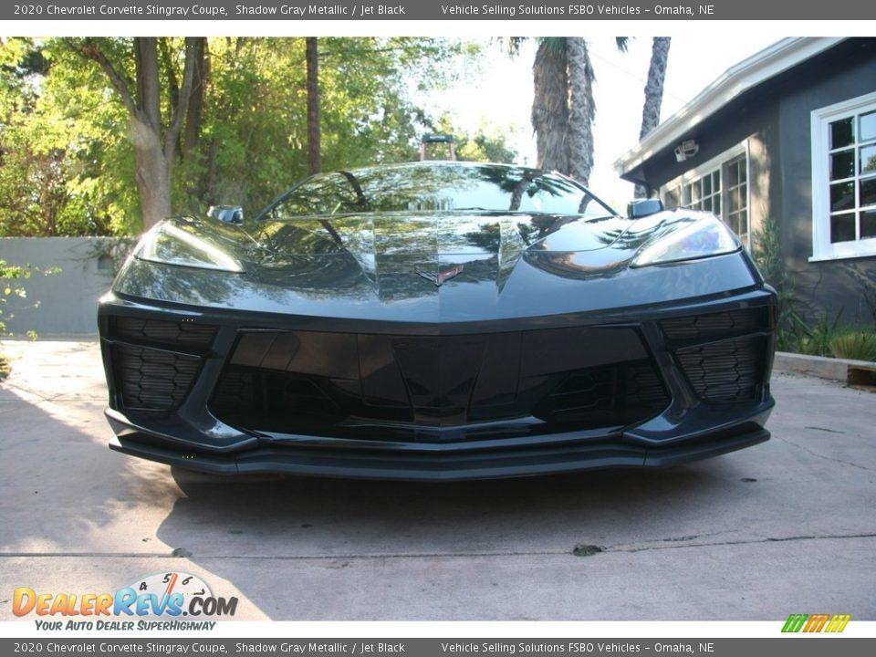 2020 Chevrolet Corvette Stingray Coupe Shadow Gray Metallic / Jet Black Photo #17