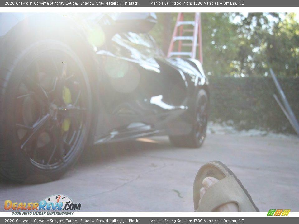 2020 Chevrolet Corvette Stingray Coupe Shadow Gray Metallic / Jet Black Photo #18