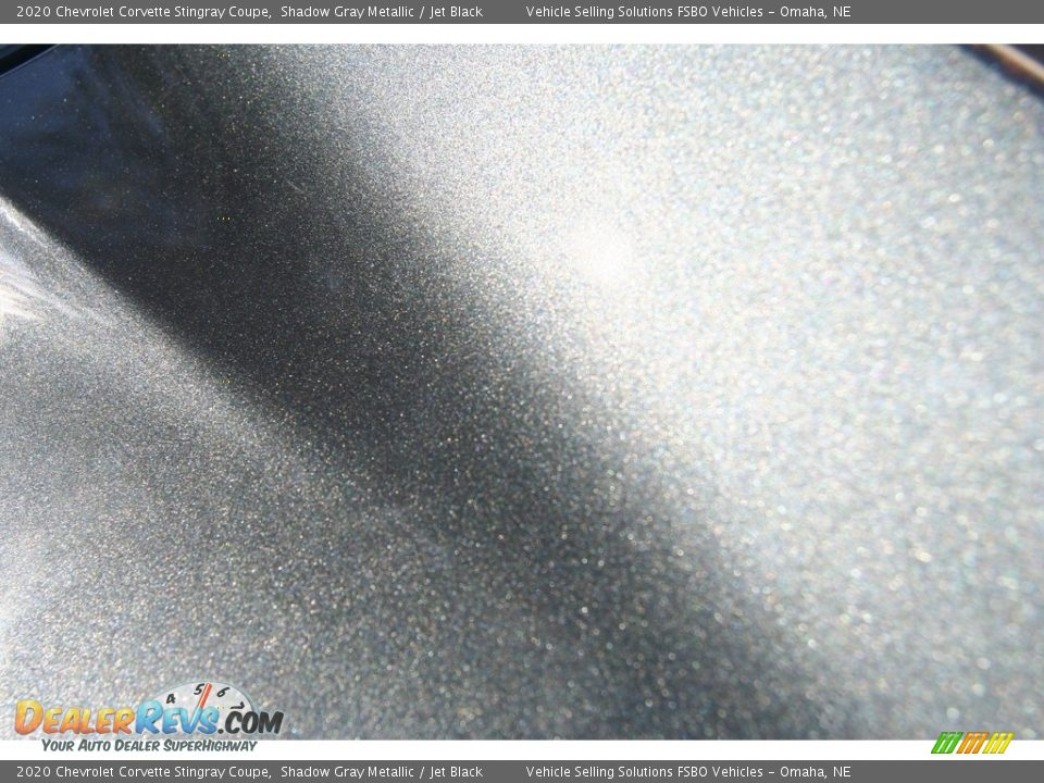 2020 Chevrolet Corvette Stingray Coupe Shadow Gray Metallic / Jet Black Photo #20
