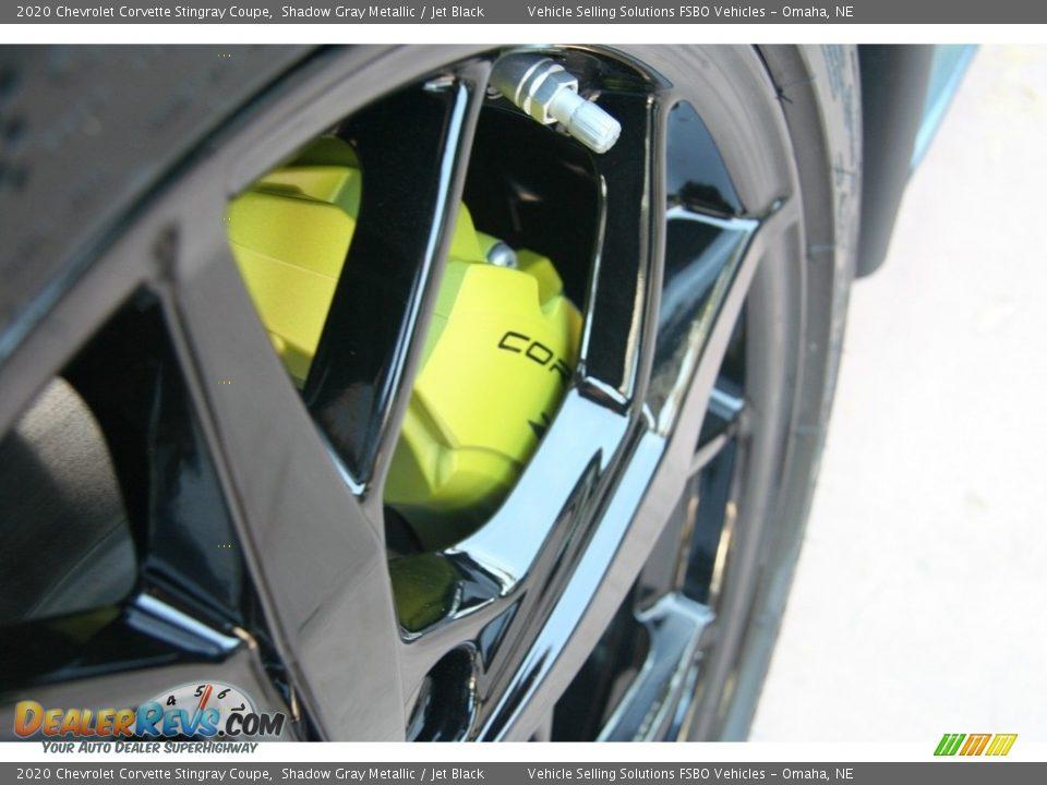 2020 Chevrolet Corvette Stingray Coupe Shadow Gray Metallic / Jet Black Photo #26