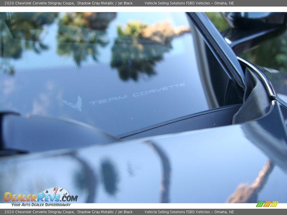 2020 Chevrolet Corvette Stingray Coupe Shadow Gray Metallic / Jet Black Photo #27