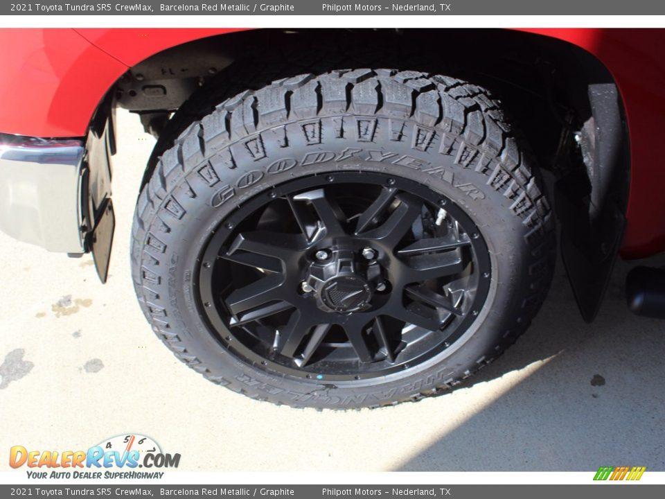 2021 Toyota Tundra SR5 Double Cab Barcelona Red Metallic / Graphite Photo #5