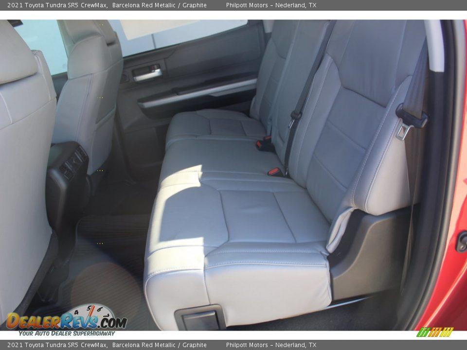 2021 Toyota Tundra SR5 Double Cab Barcelona Red Metallic / Graphite Photo #19