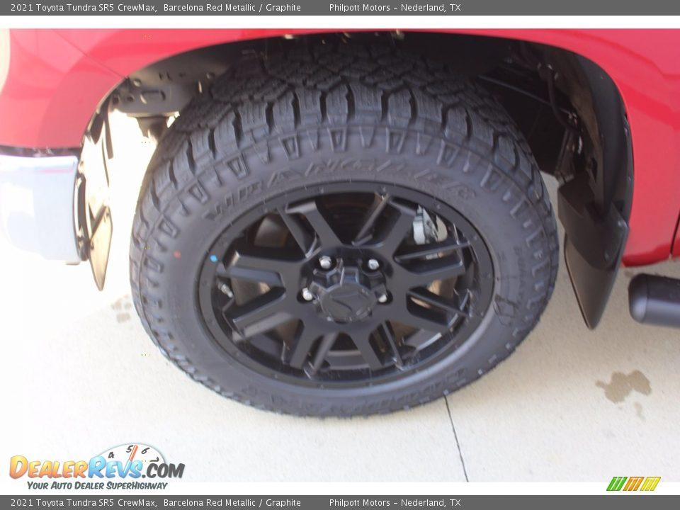 2021 Toyota Tundra SR5 CrewMax Barcelona Red Metallic / Graphite Photo #5