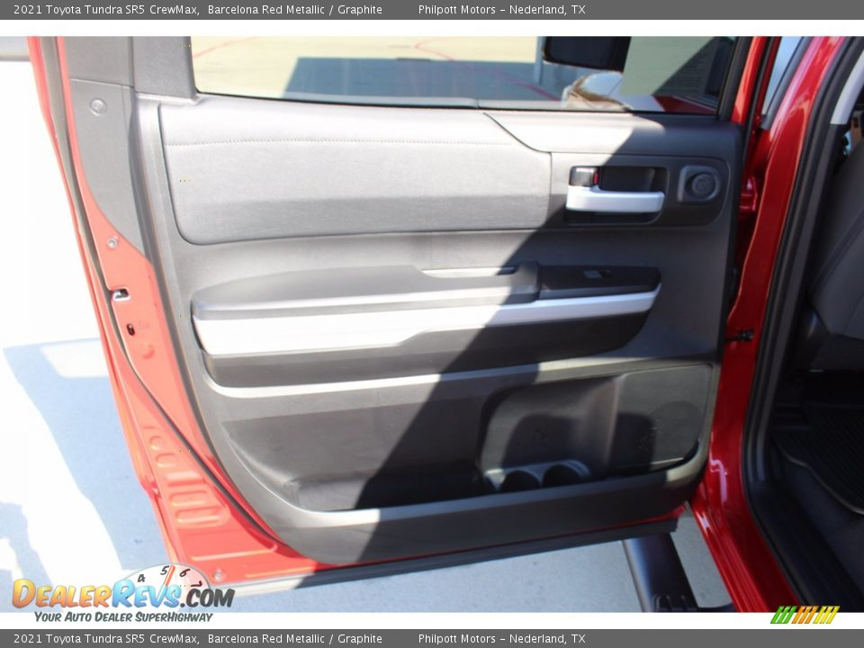 2021 Toyota Tundra SR5 CrewMax Barcelona Red Metallic / Graphite Photo #18