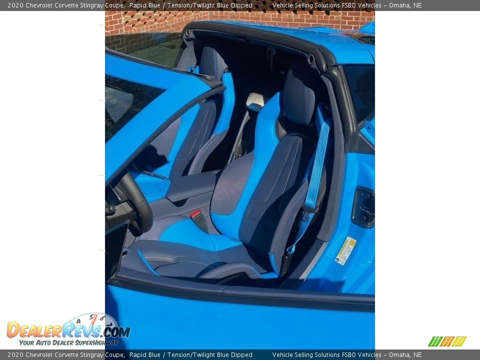 Front Seat of 2020 Chevrolet Corvette Stingray Coupe Photo #5