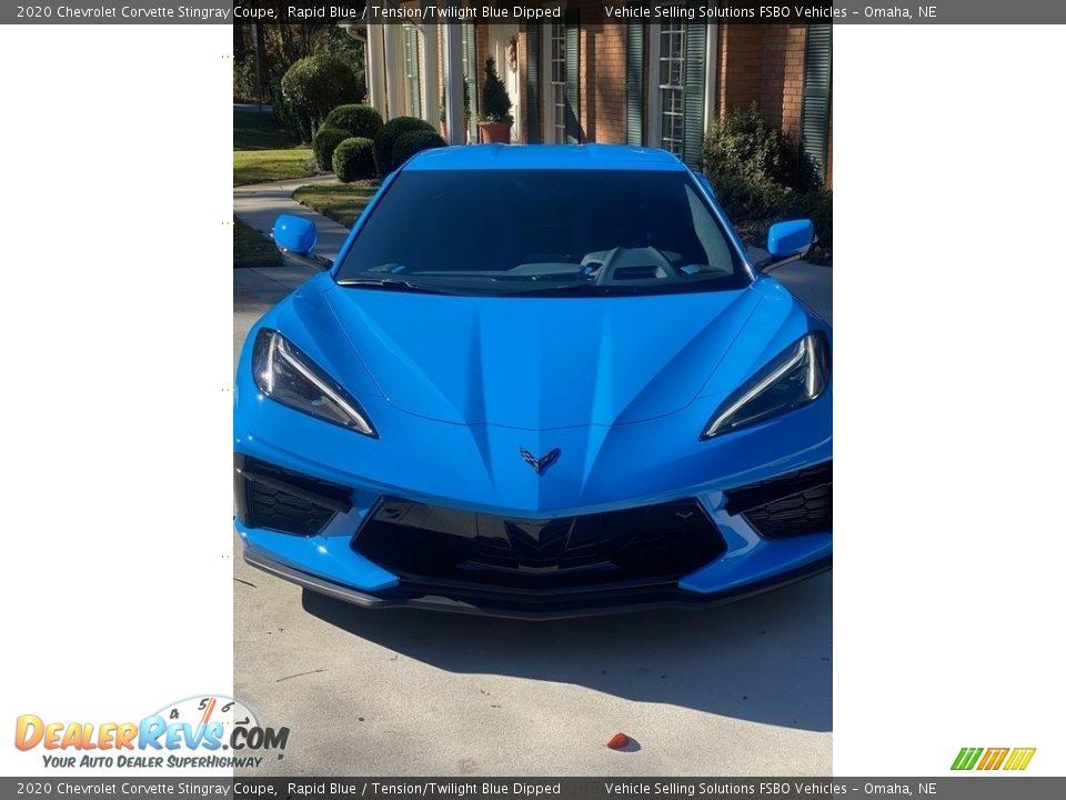 Rapid Blue 2020 Chevrolet Corvette Stingray Coupe Photo #11