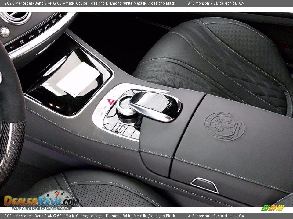 2021 Mercedes-Benz S AMG 63 4Matic Coupe designo Diamond White Metallic / designo Black Photo #7