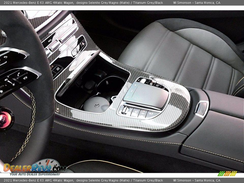 Controls of 2021 Mercedes-Benz E 63 AMG 4Matic Wagon Photo #7